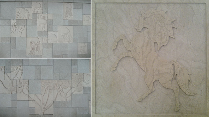 natural stone design panels