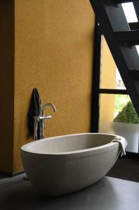 bañeras en piedra natural