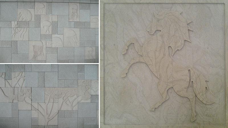 natural stone design panels
