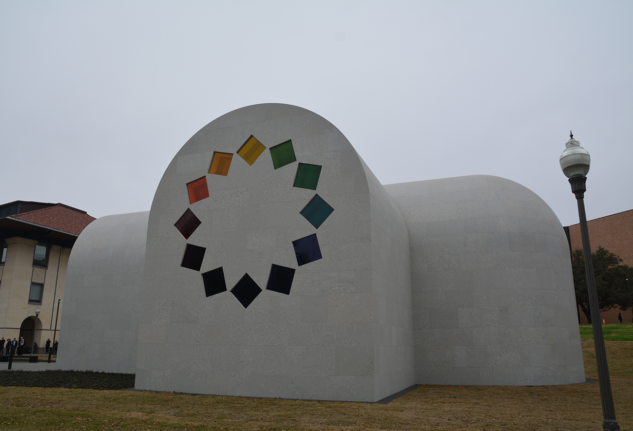 Bateig Stone for the Museum of Art Blanton in Texas